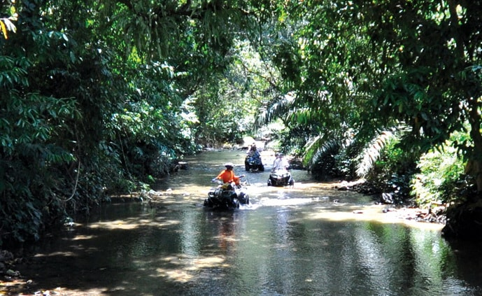 Phangnga ATV tour