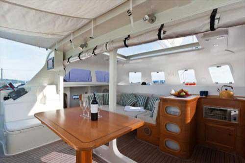 DaVinci charter catamaran
