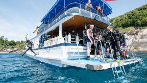 dive boat Phuket