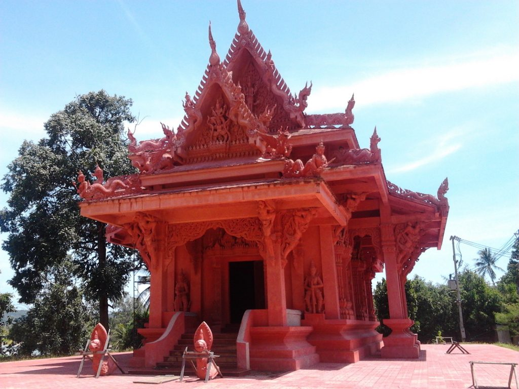 Red Temple Koh samui