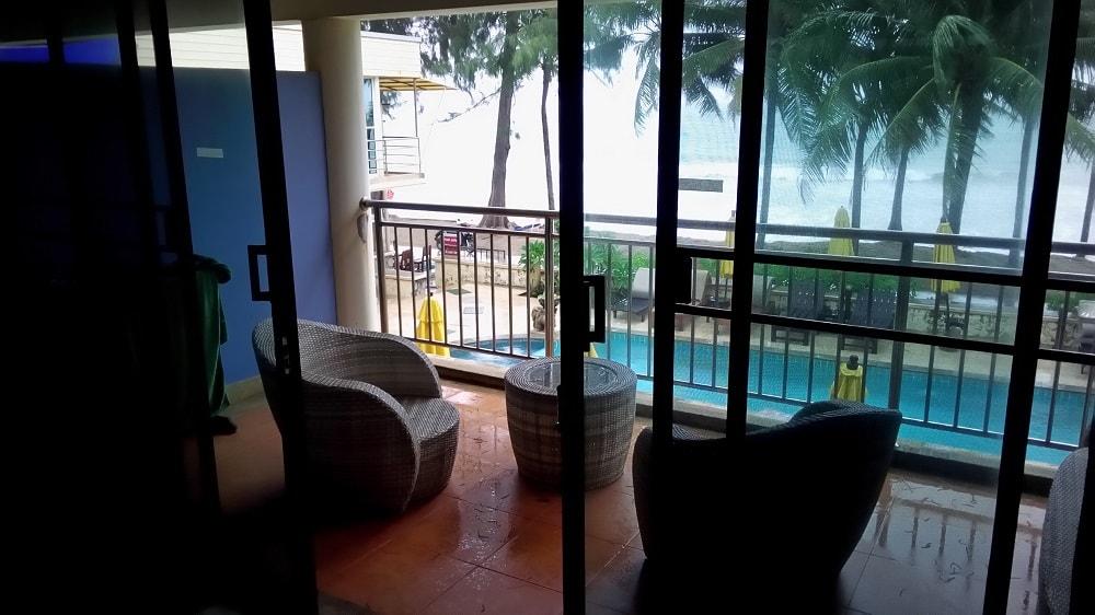 Kamala beach front apartments