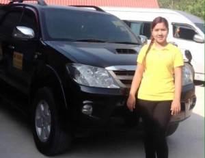 Nok female taxi driver Phuket
