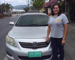 Yik taxi driver Phuket