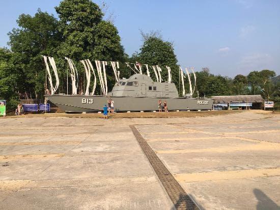 Tsunami memorial Phuket