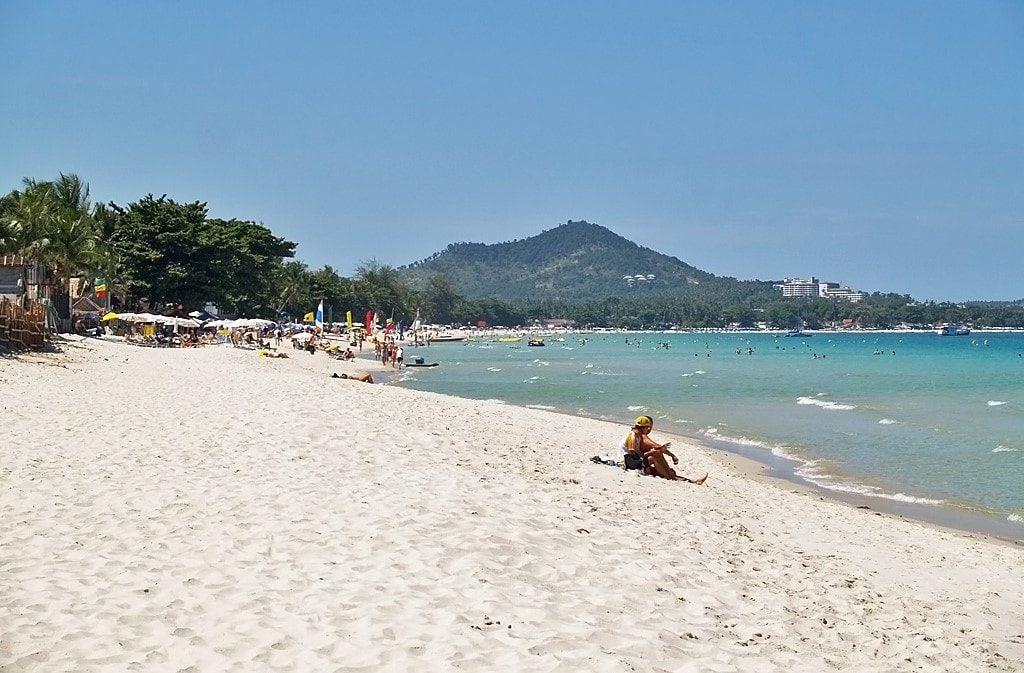 Chaweng beach samui