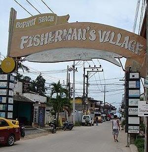 Fisherman's village Bophut Koh Samui