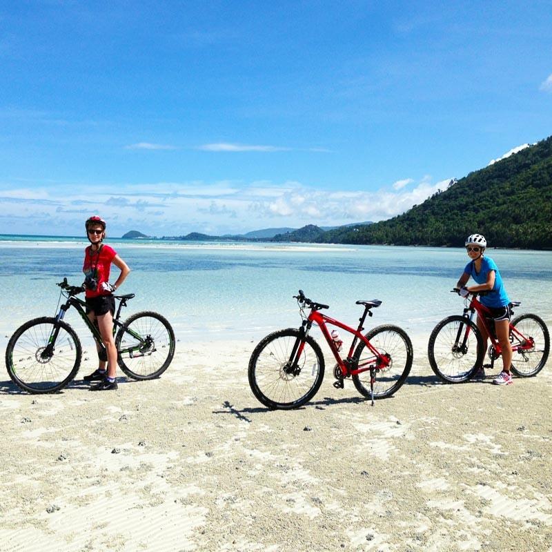 Bicycle tour Koh Samui