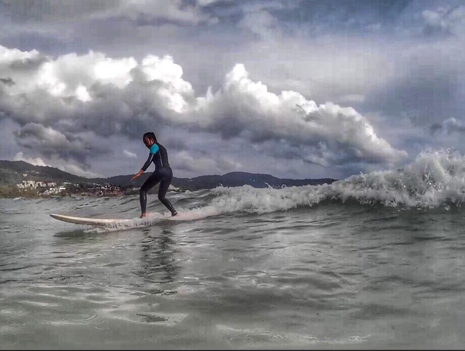 Surfing Phuket