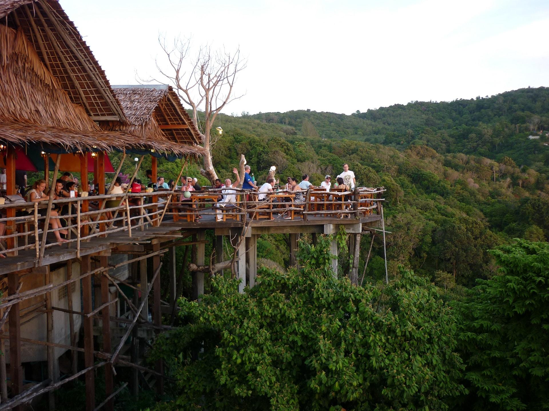After beach Bar above Kata Noi