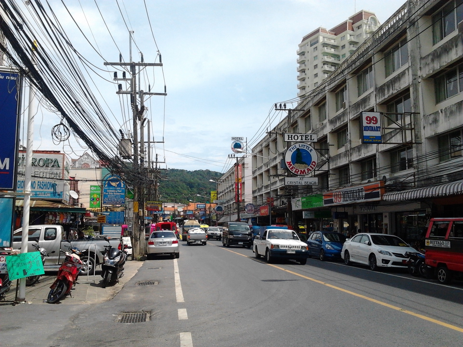 Karon beach centre Phuket