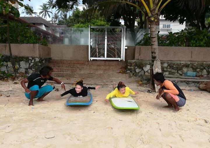 Kata beach suf school Phuket