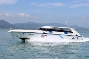 ALP speedboat to Phi Phi