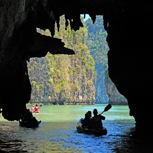 Kayaking Koh Hong