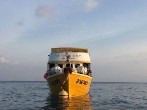 Snorkel boat Similan Islands