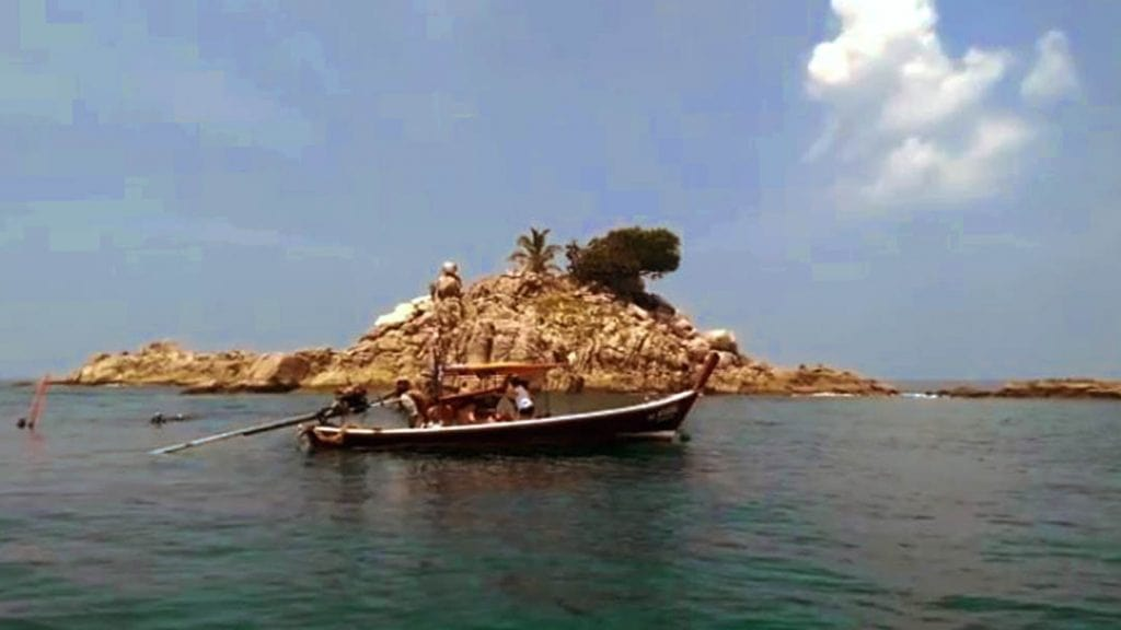 snorkeling by longtail boat in Phuket