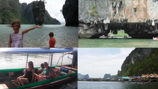 small group Phang Nga bay tour